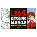 Livre 365 Dessin manga pour toute l'année
