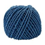 Ficelle de papier -2,5 à 3 mm - bleu foncé - 150 g