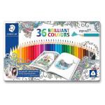 Crayon de couleur Ergo soft 36 couleurs