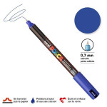 Marqueur PC-1MR calibrée extra-fine - Bleu foncé