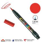 Marqueur  PCF-350 pointe pinceau - Rouge