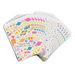 Sachet papier blanc imprimé Bonbons 13 x 18 cm 12 pcs