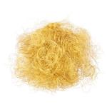 Cheveux artificiels brillants Doré 17 g