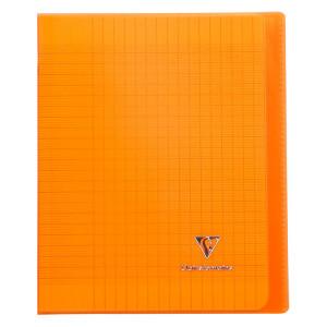 Cahier 17 x 22 cm grands carreaux Séyès 96 pages Koverbook