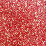 Papier Lokta 50 x 75 cm Rouge & Blanc 12