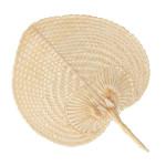 Éventail en bambou Viva la vida 37 x 30 cm