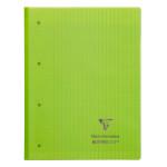 Bloc de cours 22,3 x 29,7 cm grands carreaux Séyès 160p perforées Koverbook