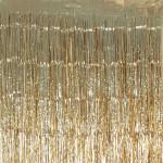 Rideau mylar Doré 250 x 100 cm