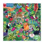 Puzzle Forêt tropicale 1000 pièces