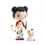 Figurine Tinyly Barbouille & Gribs