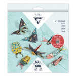 Kit origami Insectes 60 feuilles 3 formats