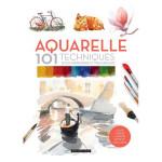 Livre Aquarelle 101 techniques pour apprendre et progresser