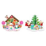 Scènes de Noël à monter et décorer 152 accessoires