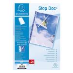 Pochette perforée ouverte Stop Doc A4 25 pcs